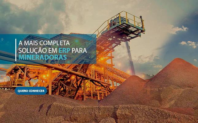 Banner Mineração